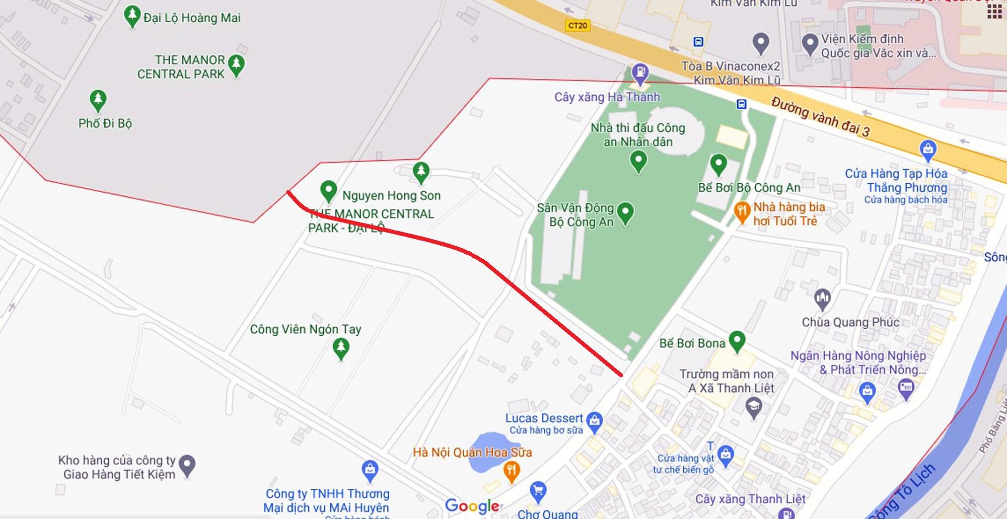 Ba đường sẽ mở theo qui hoạch ở xã Thanh Liệt, Thanh Trì, Hà Nội - Ảnh 6.