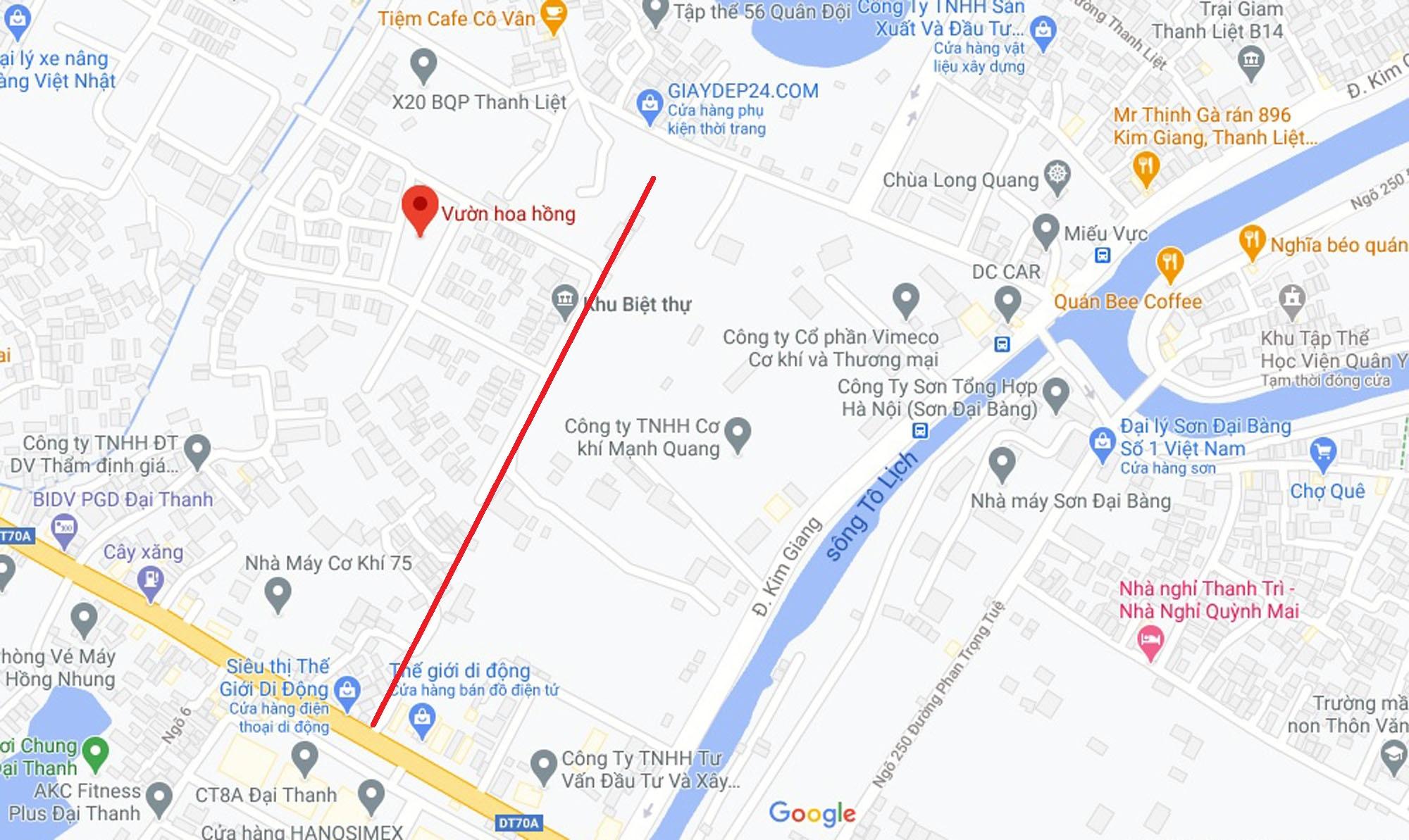 Ba đường sẽ mở theo qui hoạch ở xã Thanh Liệt, Thanh Trì, Hà Nội - Ảnh 8.