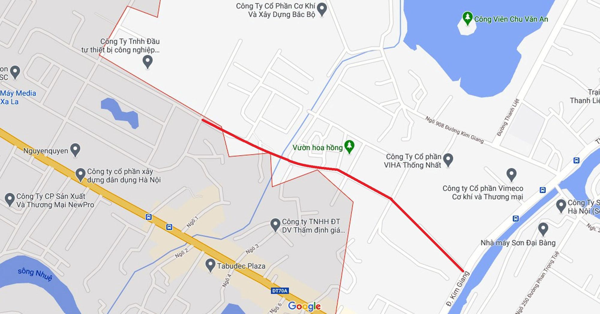 Ba đường sẽ mở theo qui hoạch ở xã Thanh Liệt, Thanh Trì, Hà Nội - Ảnh 11.