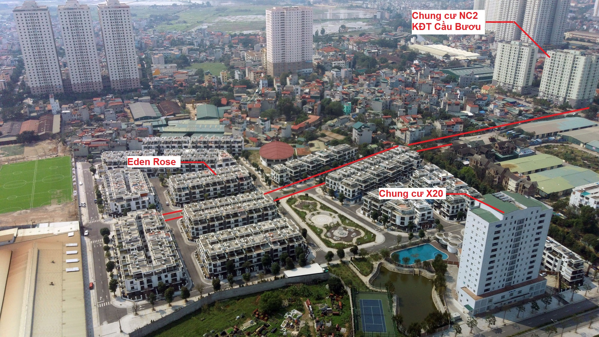 Ba đường sẽ mở theo qui hoạch ở xã Thanh Liệt, Thanh Trì, Hà Nội - Ảnh 13.