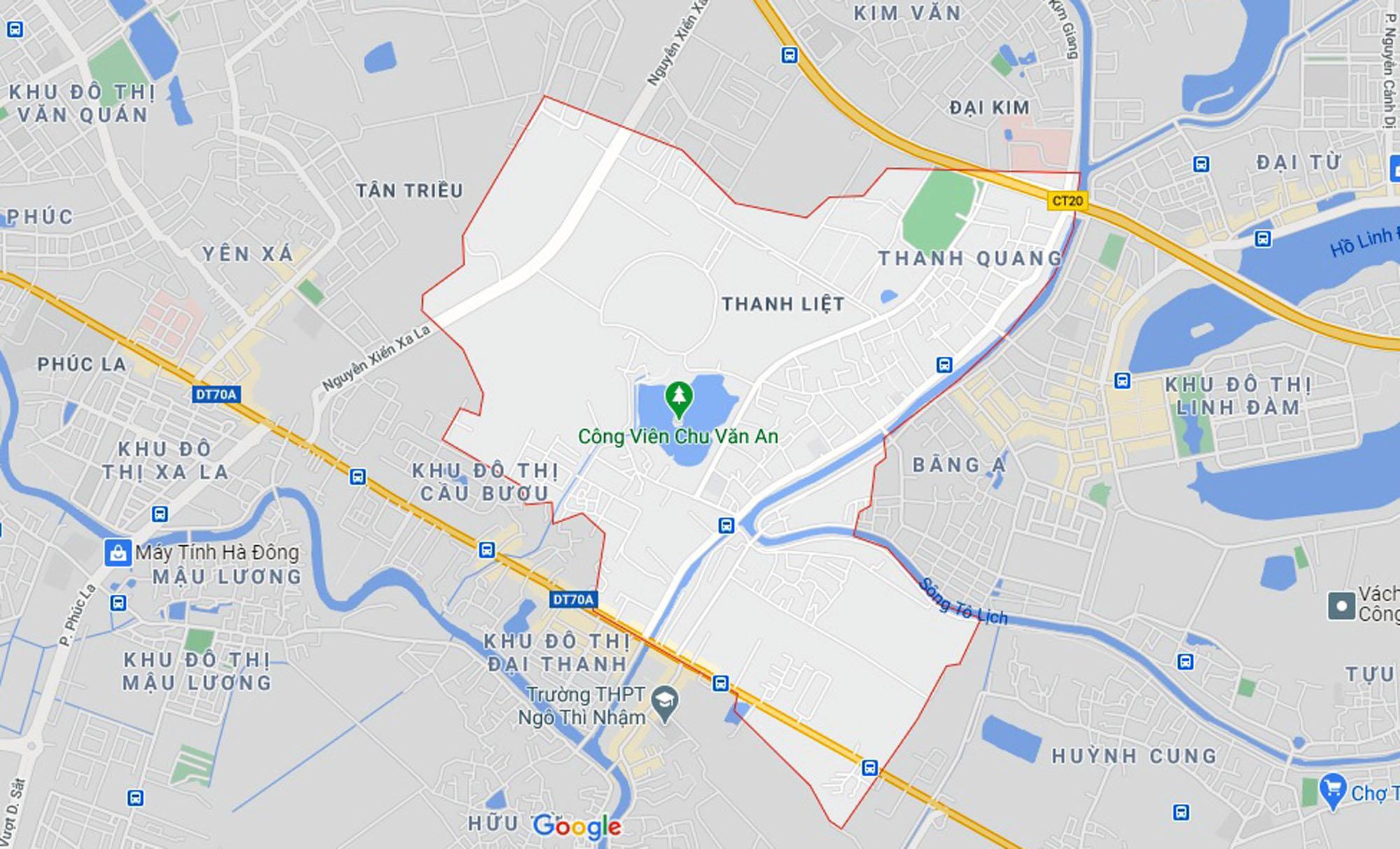 Ba đường sẽ mở theo qui hoạch ở xã Thanh Liệt, Thanh Trì, Hà Nội - Ảnh 1.