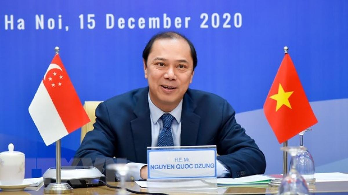 Singapore và Việt Nam bắt tay khởi động 'làn đường xanh' vào năm 2021 - Ảnh 2.