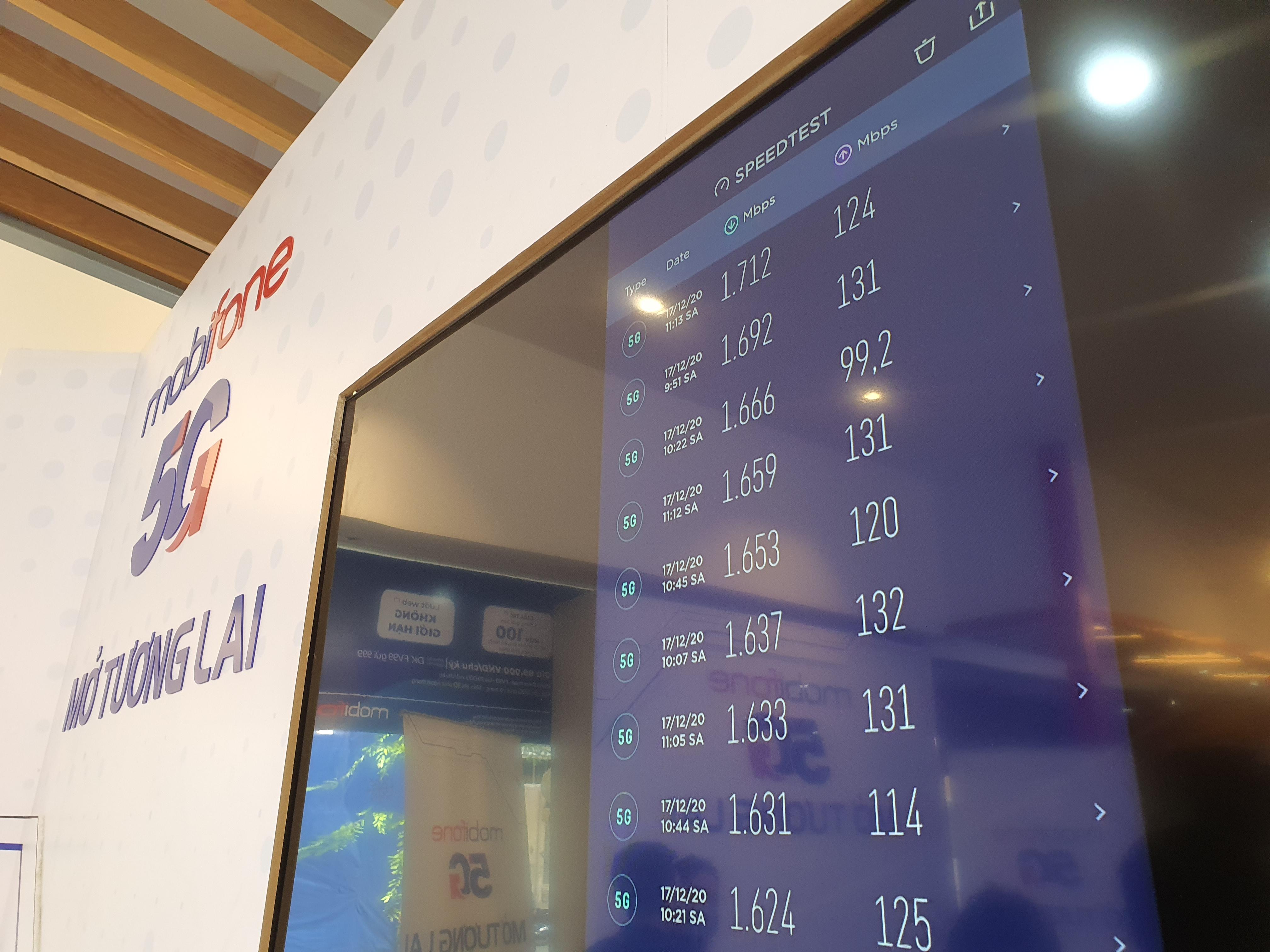 5G MobiFone đạt tốc độ lên đến 1,7Gbps, sẵn sàng cho khách hàng trải nghiệm tại TP HCM - Ảnh 1.