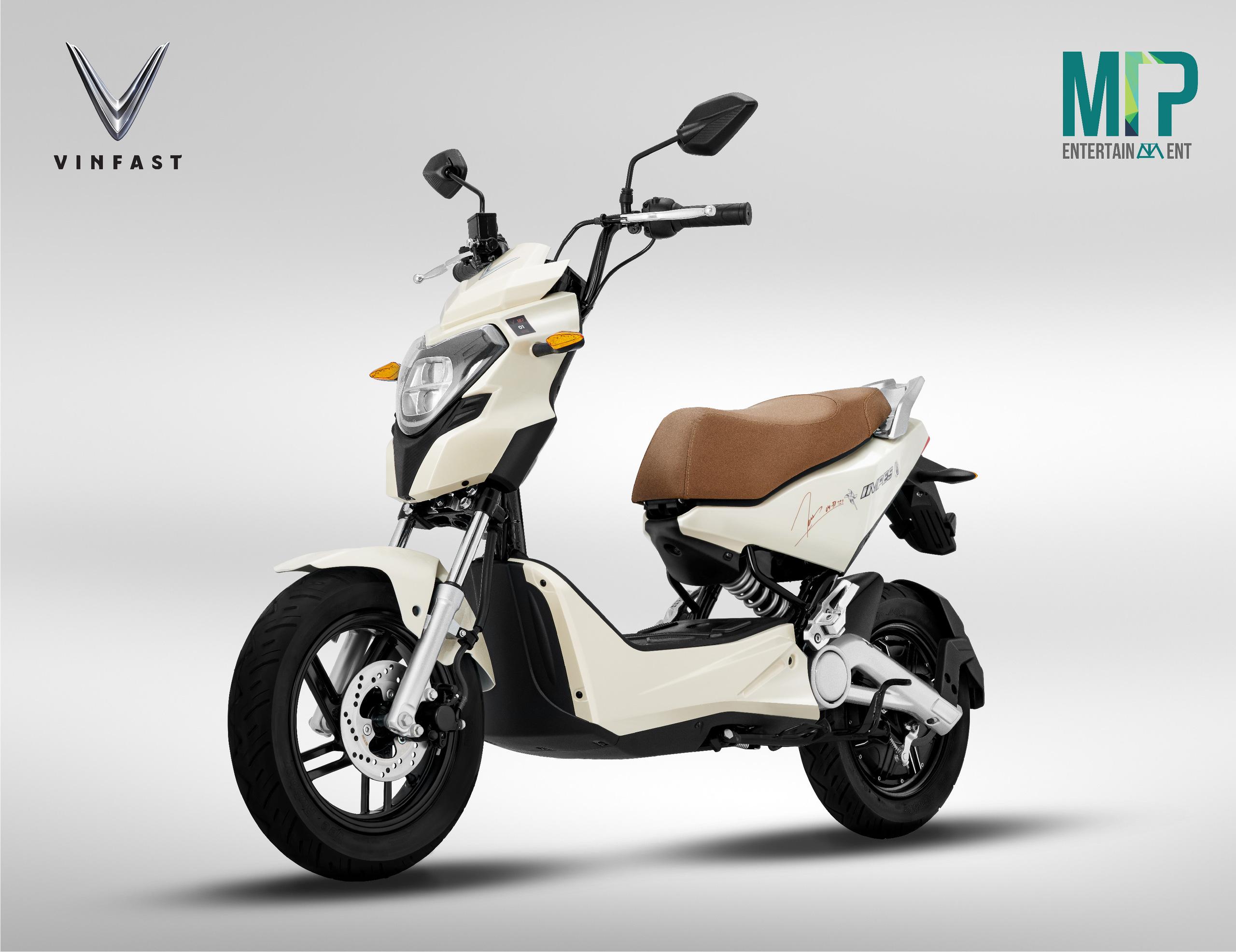 VinFast công bố hai mẫu xe máy điện mới mang đậm phong cách của Sơn Tùng M-TP - Ảnh 1.