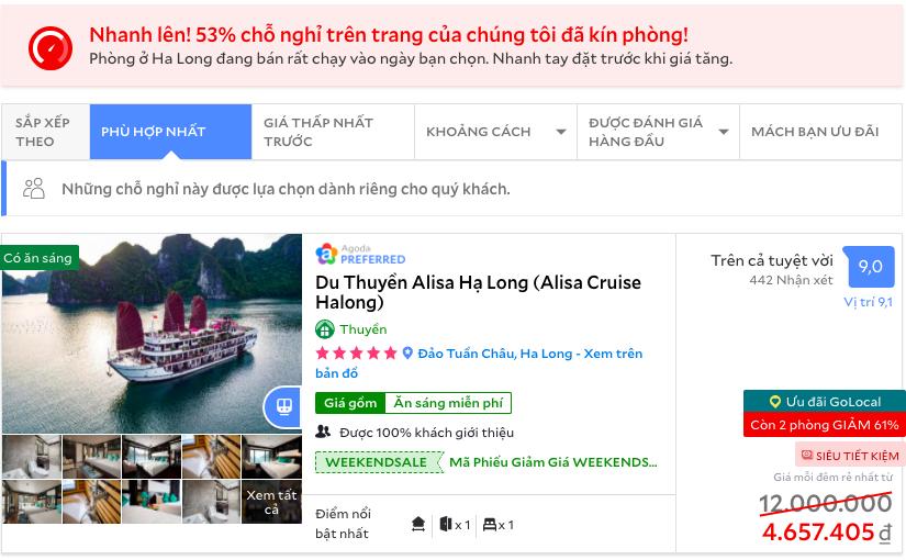 Giá khách sạn 5 sao ở một số điểm du lịch dịp Tết Dương  - Ảnh 5.