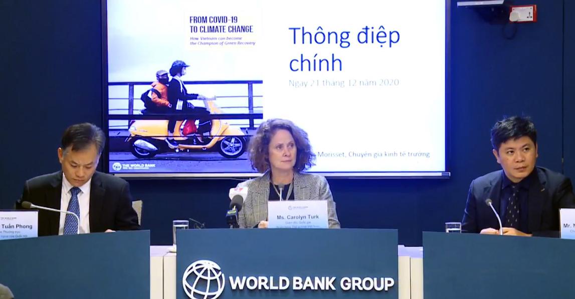 WB: Triển vọng kinh tế Việt Nam tích cực, dự báo tăng trưởng 6,8% năm 2021 - Ảnh 1.