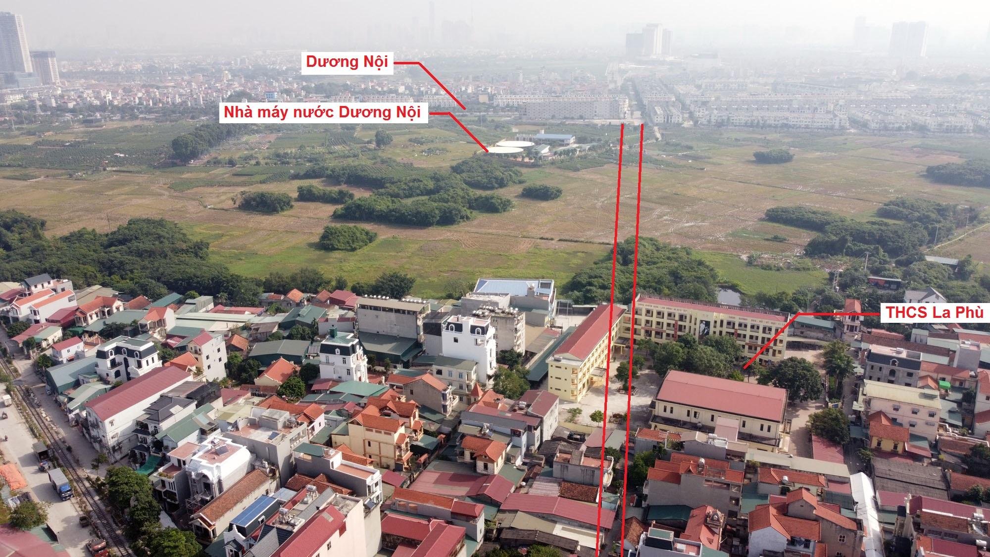 Ba đường sẽ mở theo qui hoạch ở xã La Phù, Hoài Đức, Hà Nội - Ảnh 3.