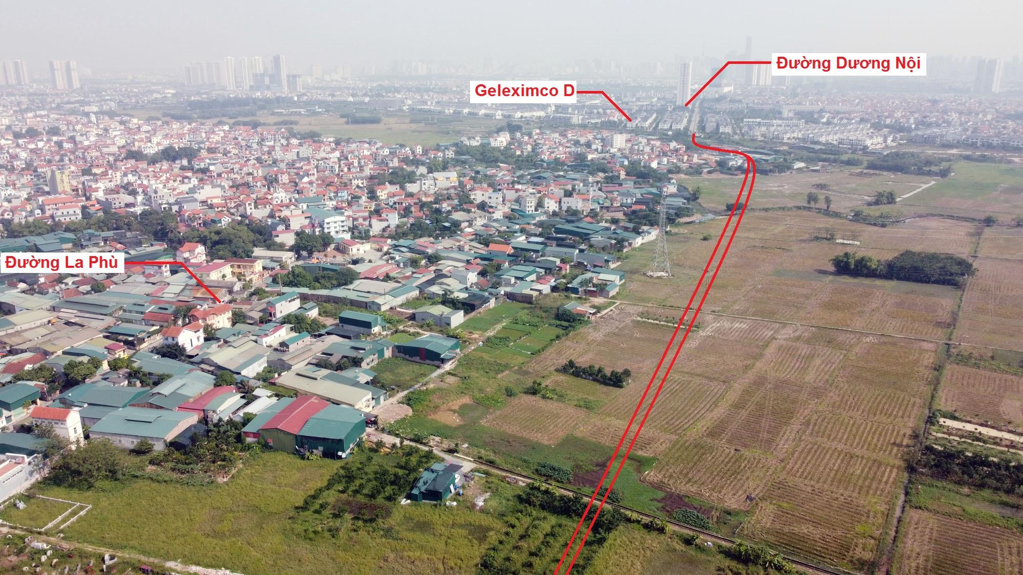 Ba đường sẽ mở theo qui hoạch ở xã La Phù, Hoài Đức, Hà Nội - Ảnh 9.