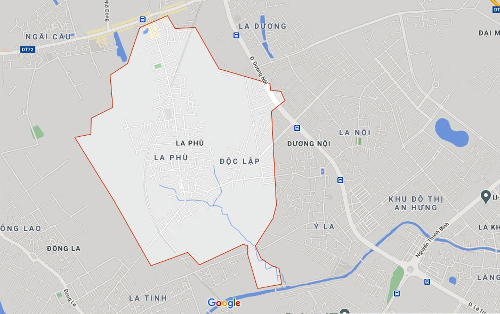 Ba đường sẽ mở theo qui hoạch ở xã La Phù, Hoài Đức, Hà Nội - Ảnh 1.