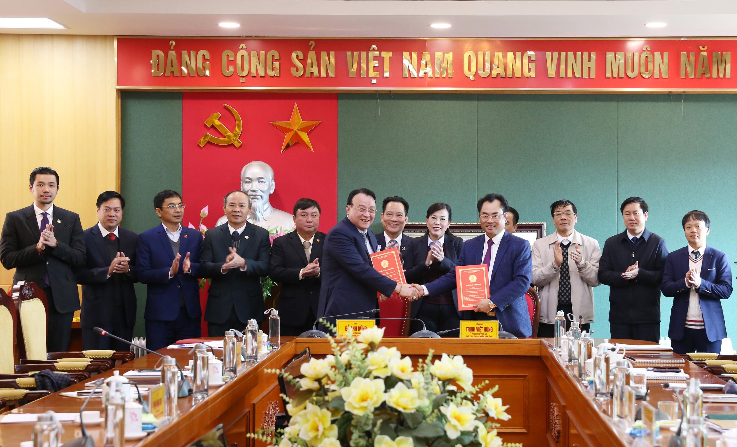 Tân Hoàng Minh muốn làm dự án hơn 500 ha tại Thái Nguyên - Ảnh 1.