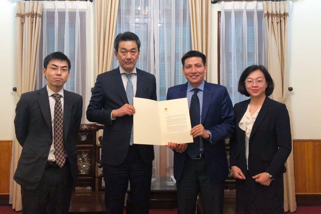 Nhật Bản nâng cấp Văn phòng Lãnh sự thành Tổng Lãnh sự quán tại Đà Nẵng - Ảnh 1.