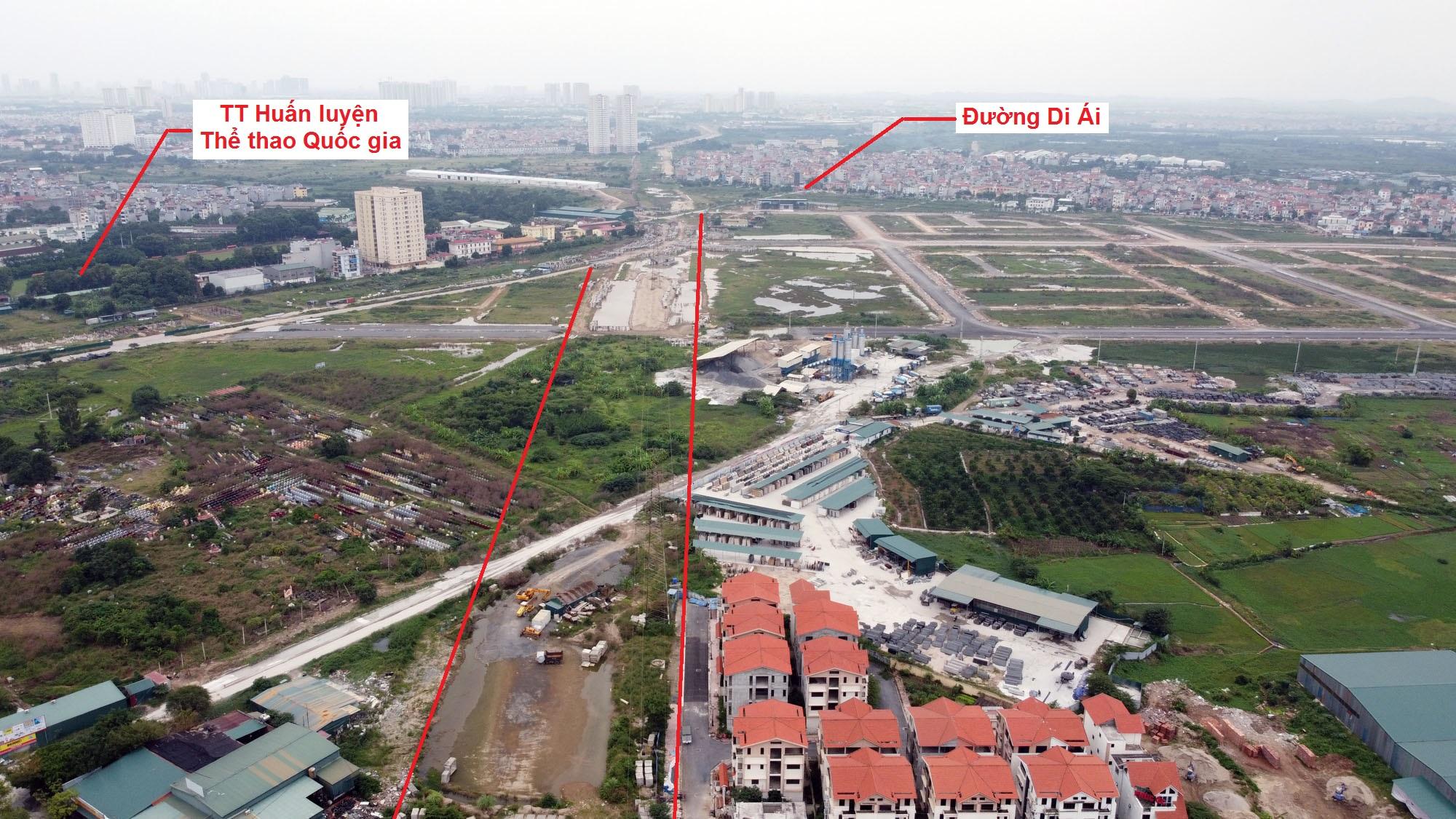 Ba đường sẽ mở theo qui hoạch ở xã Kim Chung, Hoài Đức, Hà Nội - Ảnh 3.