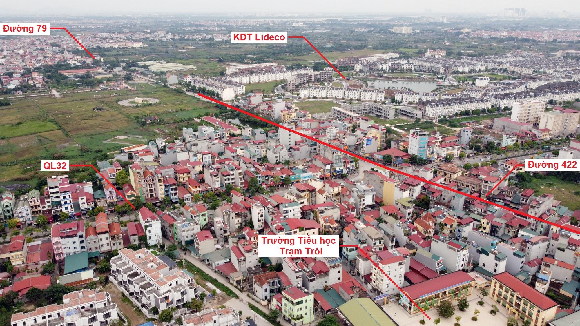 Ba đường sẽ mở theo qui hoạch ở xã thị trấn Trạm Trôi, Hoài Đức, Hà Nội - Ảnh 3.