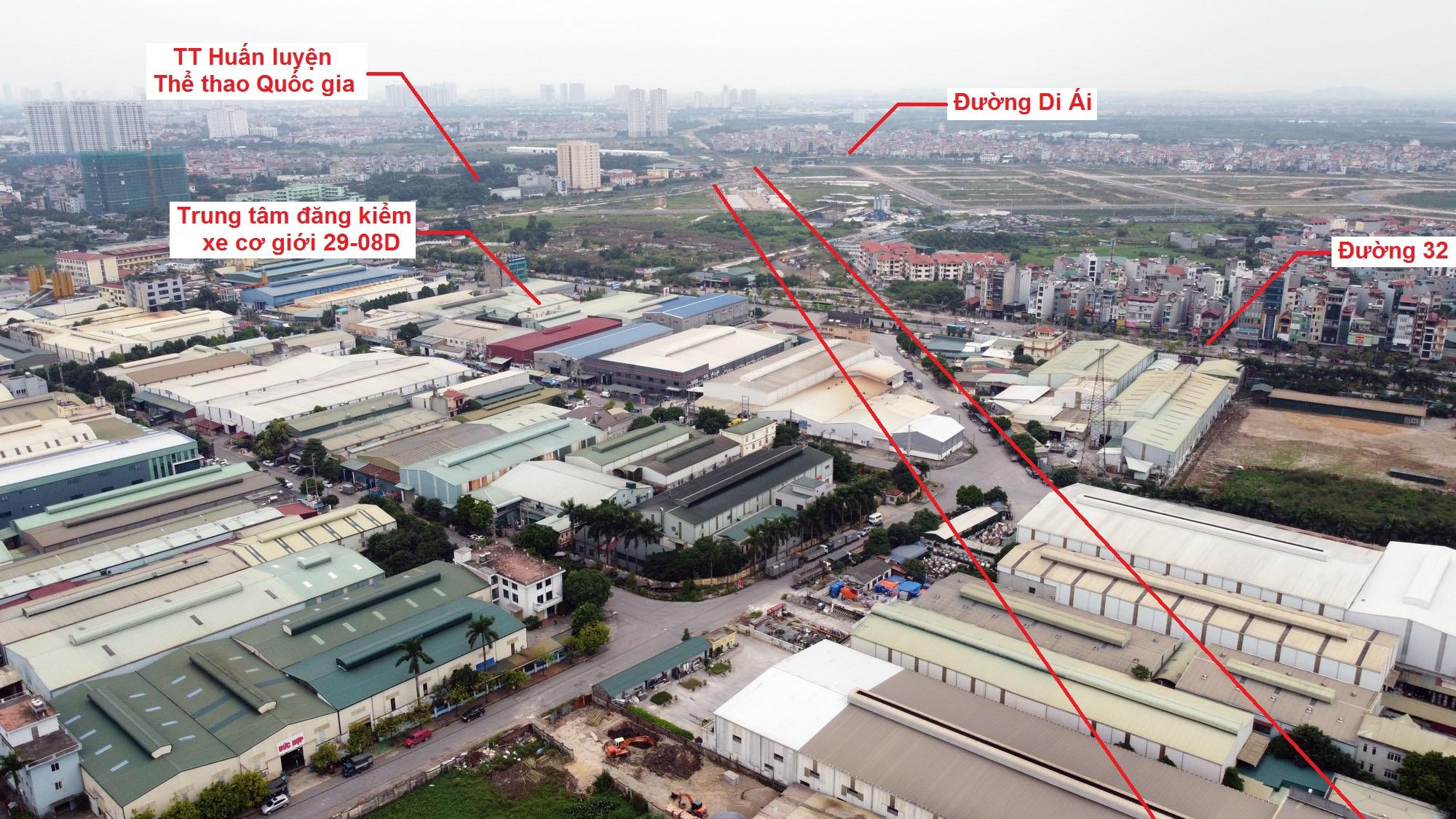 Ba đường sẽ mở theo qui hoạch ở xã Kim Chung, Hoài Đức, Hà Nội - Ảnh 4.