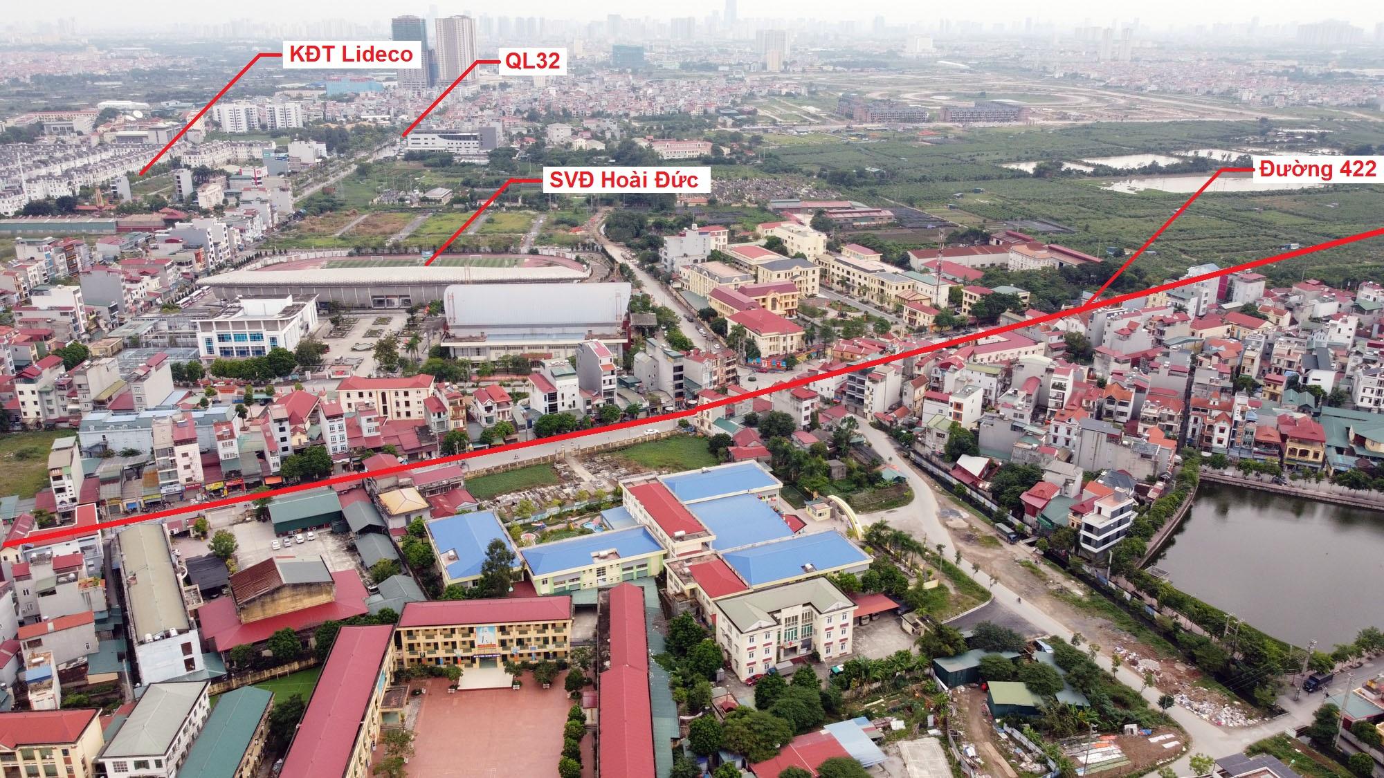 Ba đường sẽ mở theo qui hoạch ở xã thị trấn Trạm Trôi, Hoài Đức, Hà Nội - Ảnh 4.
