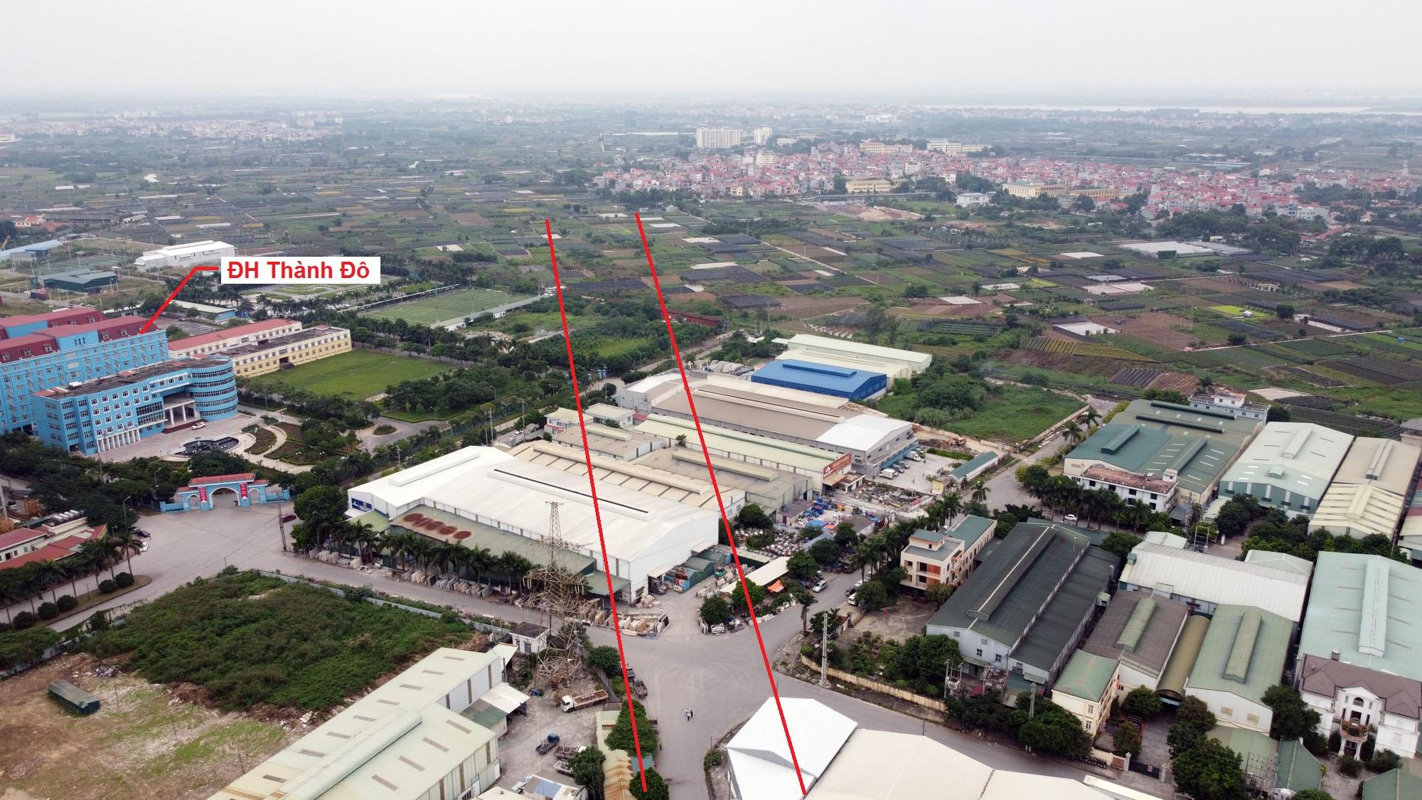 Ba đường sẽ mở theo qui hoạch ở xã Kim Chung, Hoài Đức, Hà Nội - Ảnh 5.