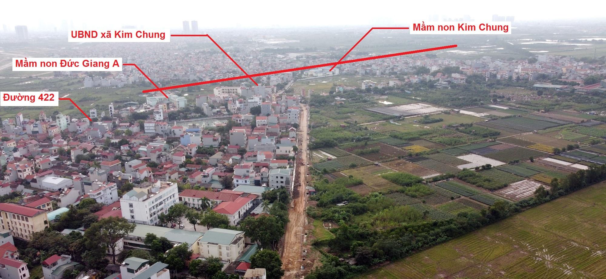 Ba đường sẽ mở theo qui hoạch ở xã Kim Chung, Hoài Đức, Hà Nội - Ảnh 7.