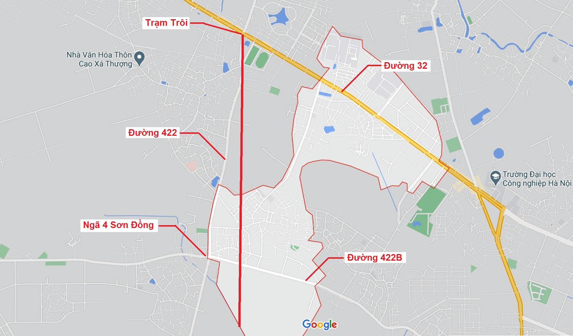 Ba đường sẽ mở theo qui hoạch ở xã Kim Chung, Hoài Đức, Hà Nội - Ảnh 6.