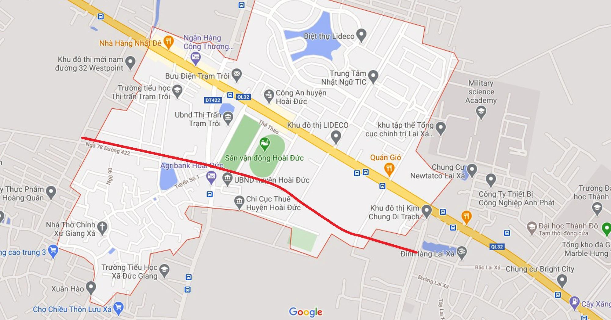 Ba đường sẽ mở theo quy hoạch ở xã thị trấn Trạm Trôi, Hoài Đức, Hà Nội - Ảnh 6.