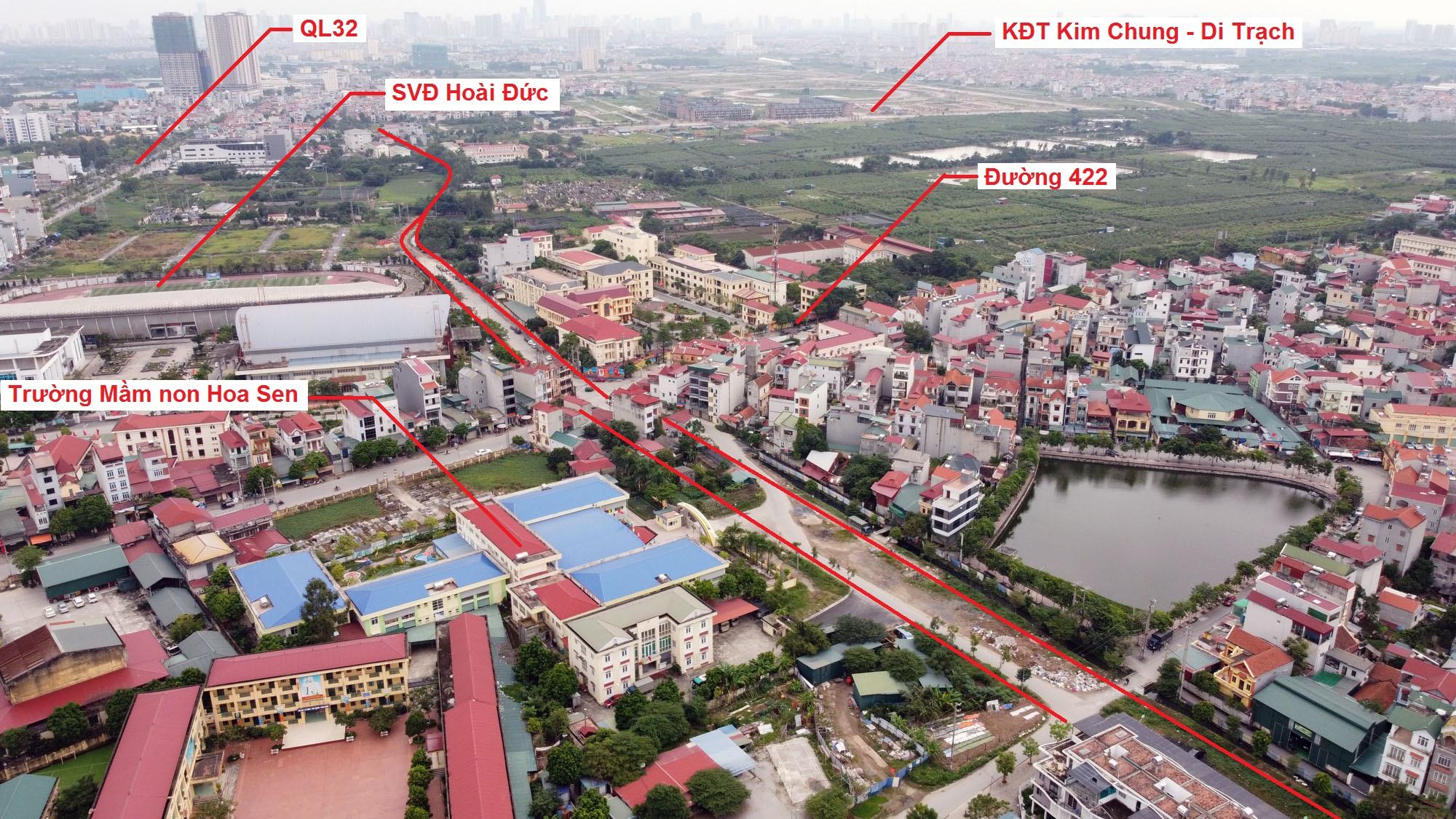 Ba đường sẽ mở theo quy hoạch ở xã thị trấn Trạm Trôi, Hoài Đức, Hà Nội - Ảnh 8.