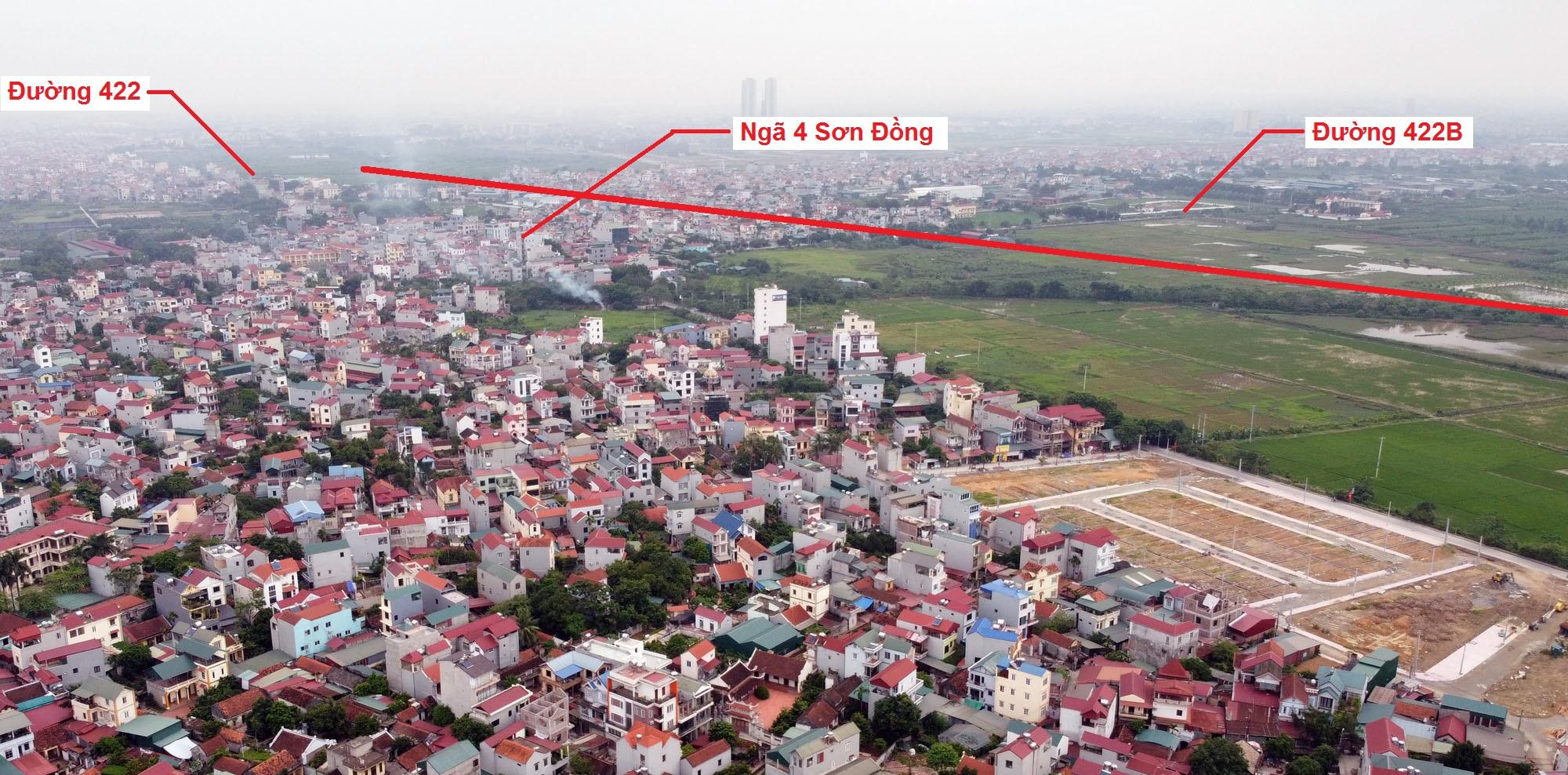 Ba đường sẽ mở theo qui hoạch ở xã Kim Chung, Hoài Đức, Hà Nội - Ảnh 9.