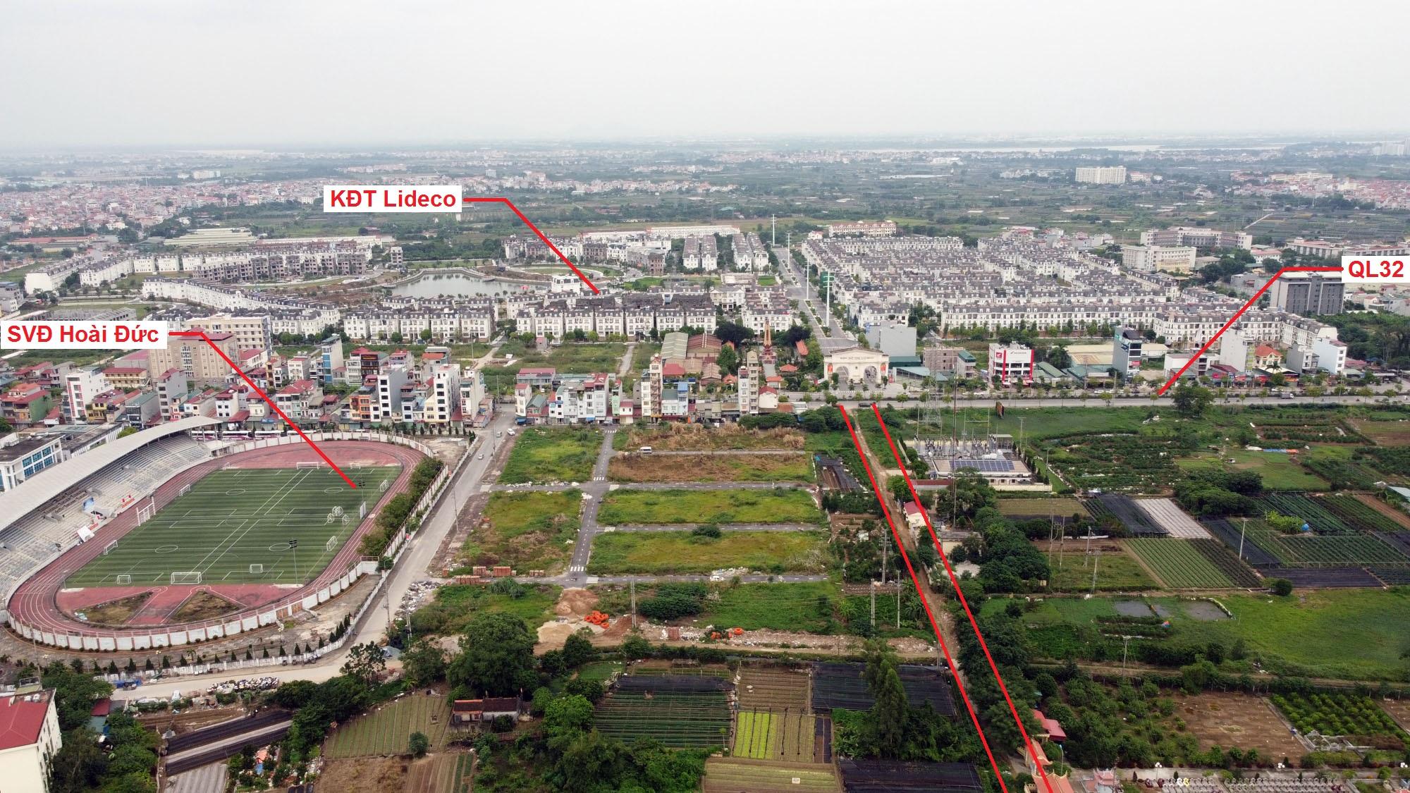 Ba đường sẽ mở theo quy hoạch ở thị trấn Trạm Trôi, Hoài Đức, Hà Nội - Ảnh 11.
