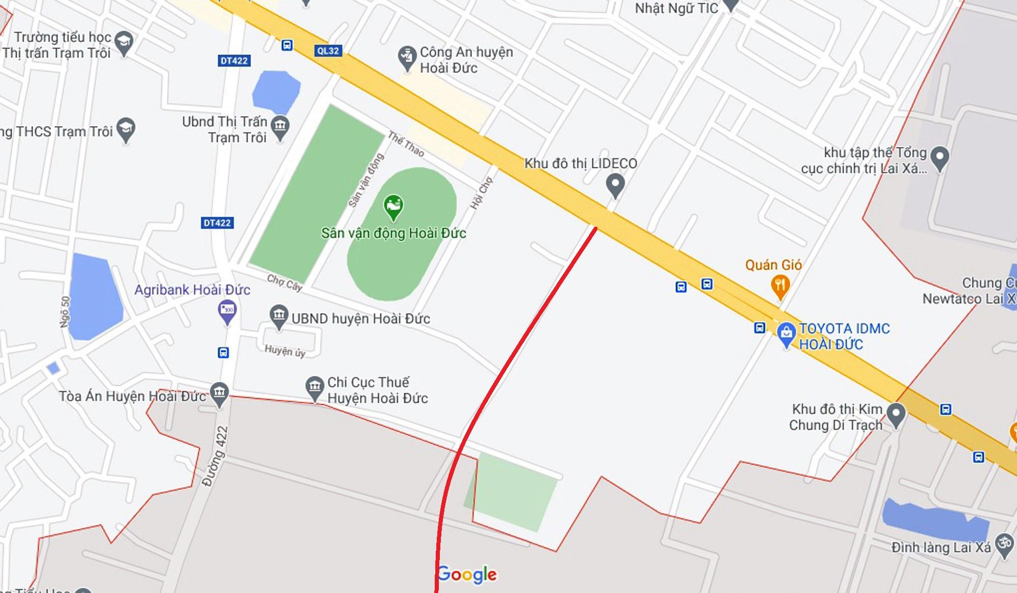 Ba đường sẽ mở theo quy hoạch ở thị trấn Trạm Trôi, Hoài Đức, Hà Nội - Ảnh 10.