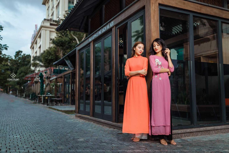 Dịp Tết Dương lịch, chụp ngay bộ ảnh áo dài thướt tha tại 5 địa điểm nổi tiếng ở Hà Nội - Ảnh 5.