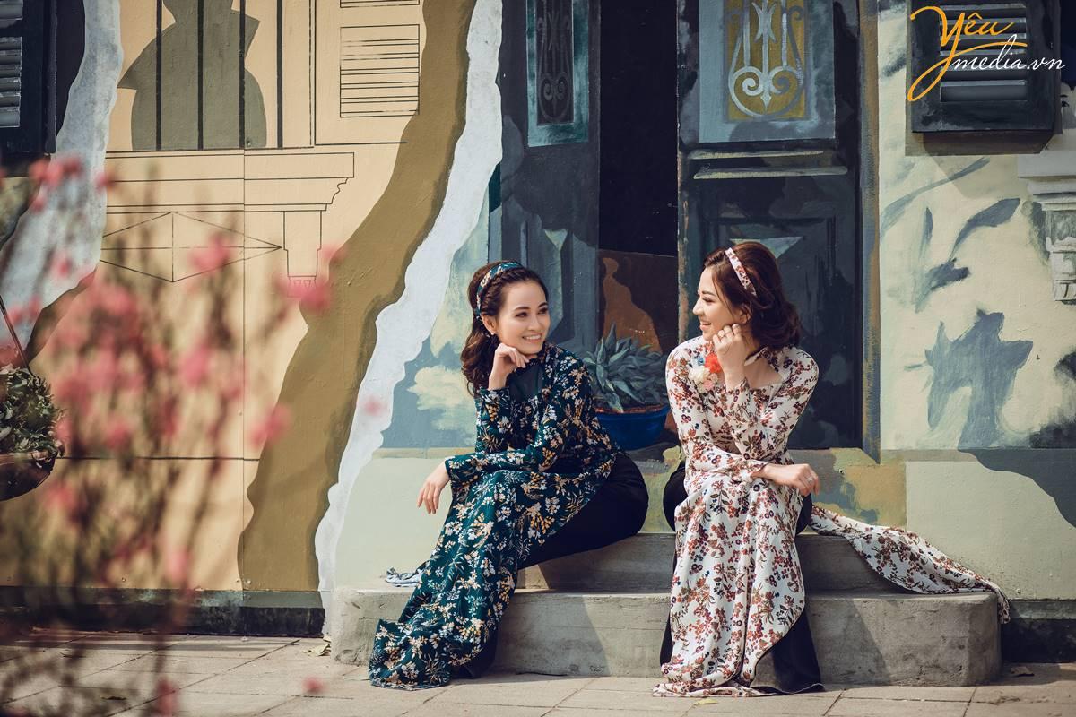 Dịp Tết Dương lịch, chụp ngay bộ ảnh áo dài thướt tha tại 5 địa điểm nổi tiếng ở Hà Nội - Ảnh 6.