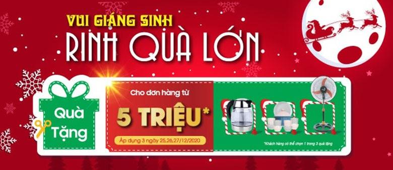 Giáng sinh sale hàng khủng điện thoại, Tivi, tủ lạnh, máy giặt...giảm đến 50%, trả góp 0% - Ảnh 1.