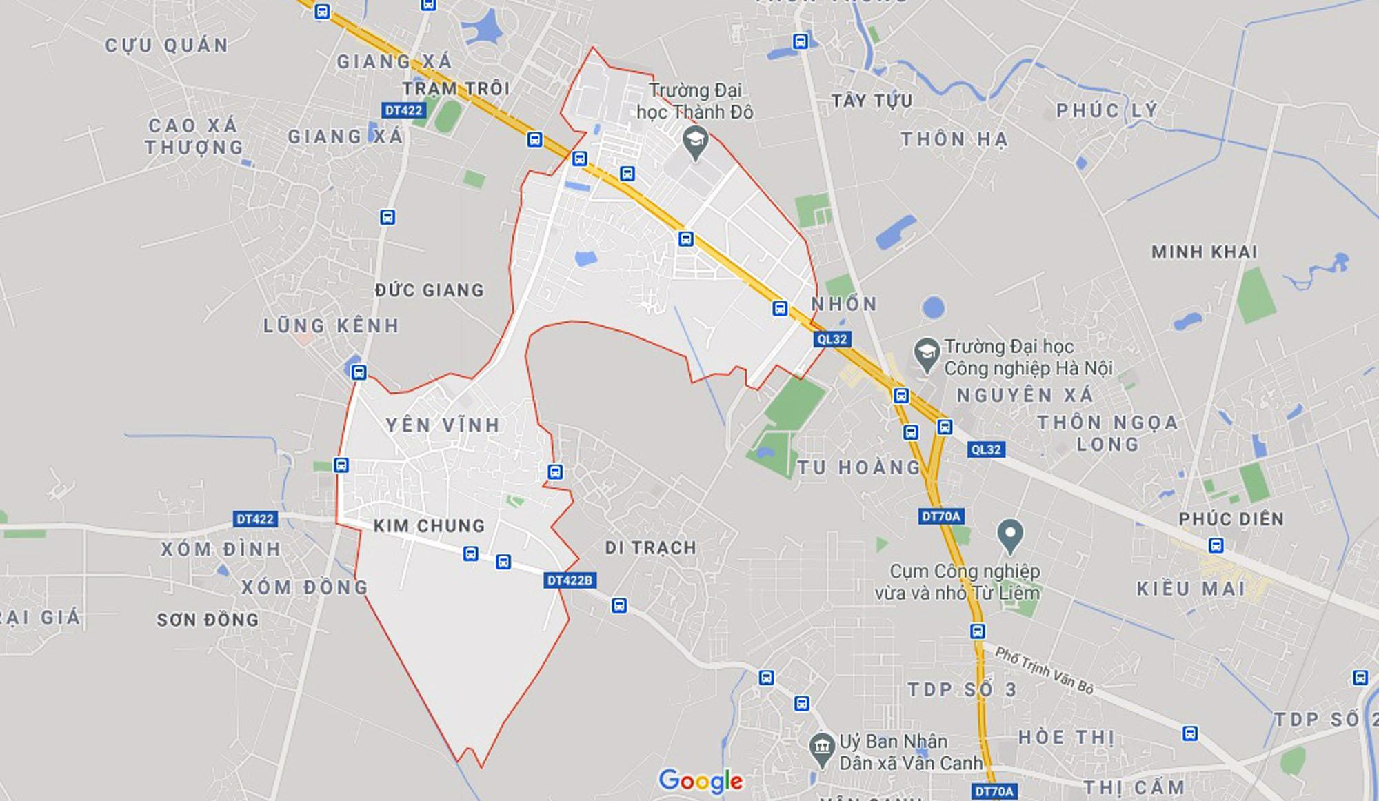 Ba đường sẽ mở theo qui hoạch ở xã Kim Chung, Hoài Đức, Hà Nội - Ảnh 1.