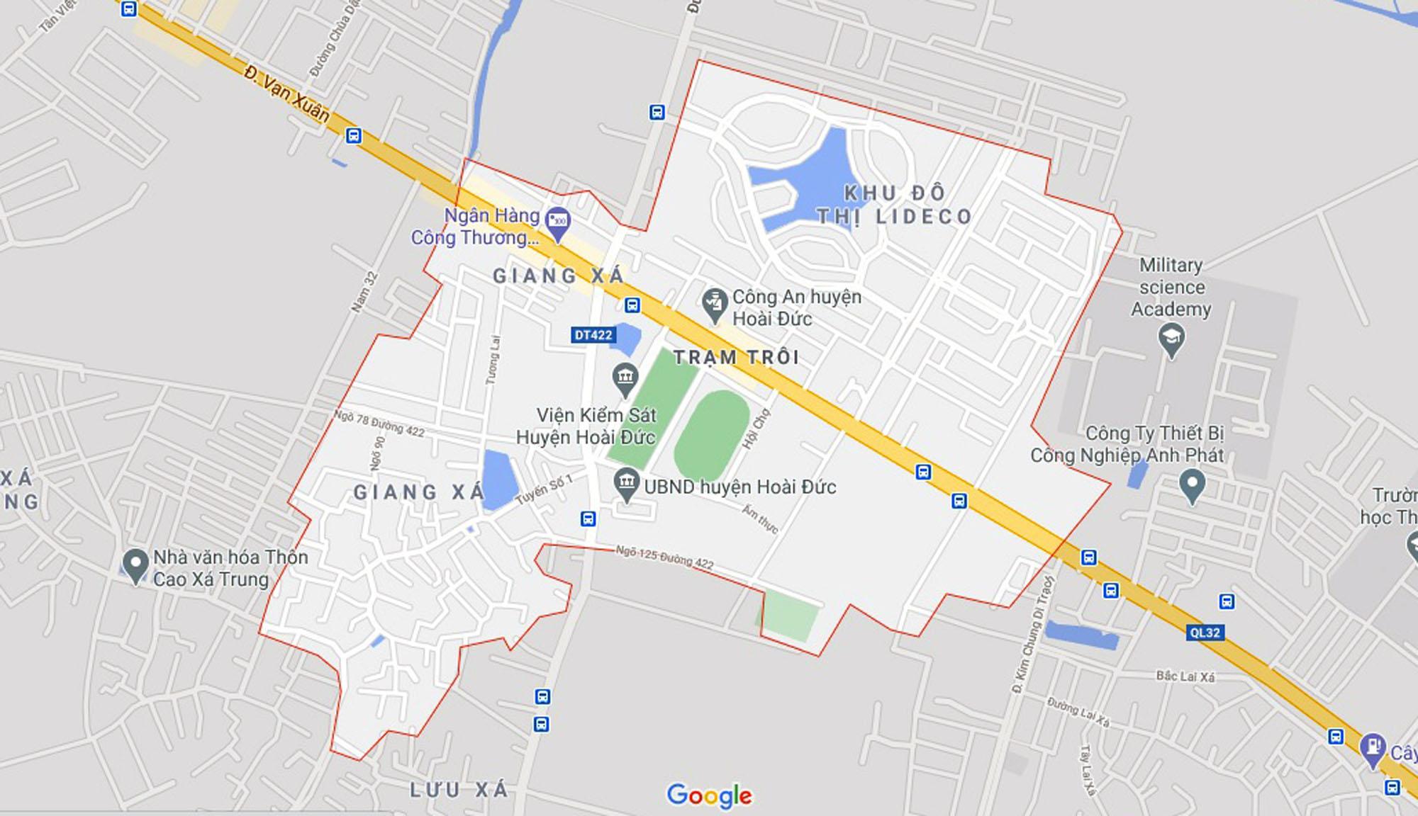 Ba đường sẽ mở theo qui hoạch ở xã thị trấn Trạm Trôi, Hoài Đức, Hà Nội - Ảnh 1.