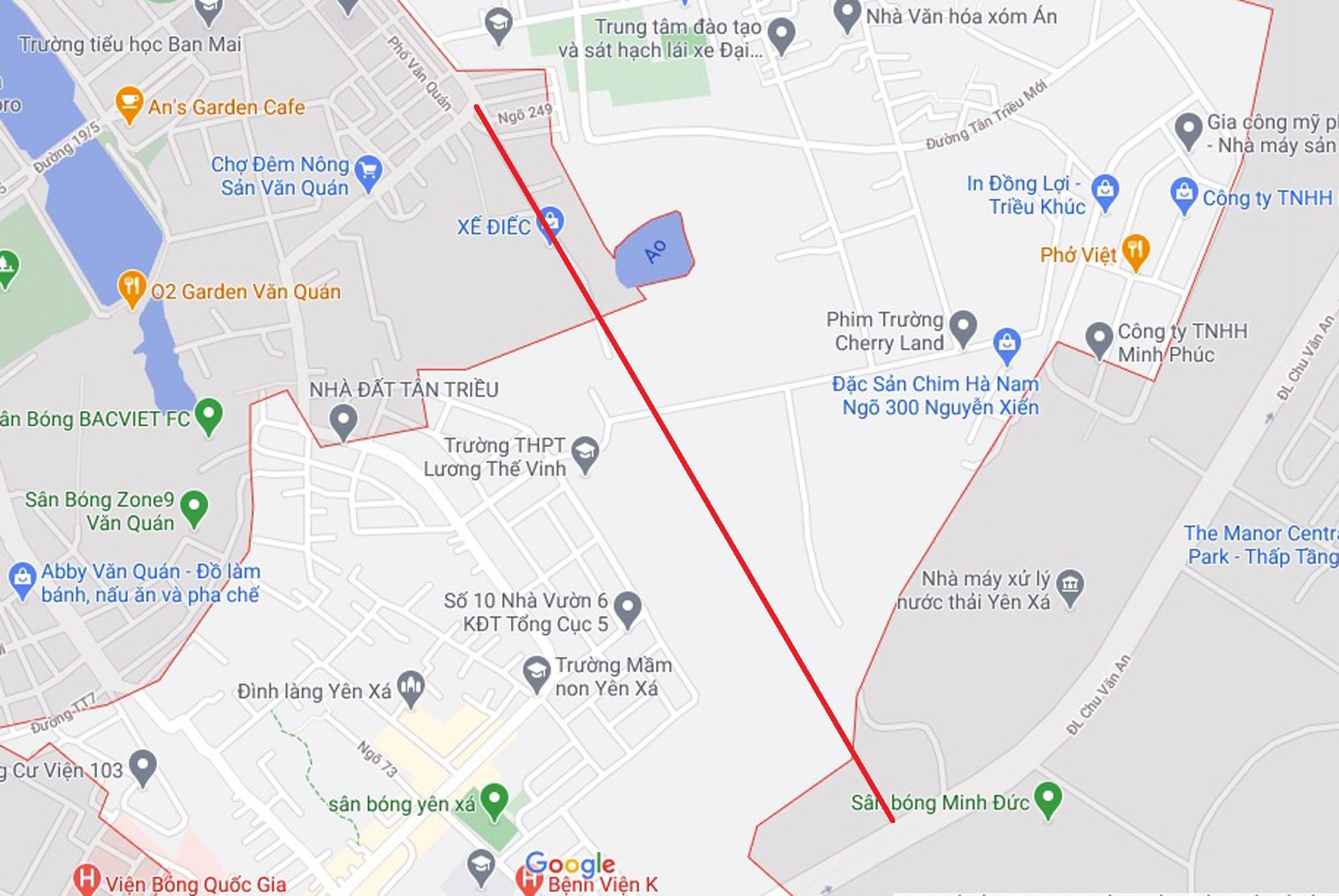 Ba đường sẽ mở theo quy hoạch ở xã Tân Triều, Thanh Trì, Hà Nội - Ảnh 12.