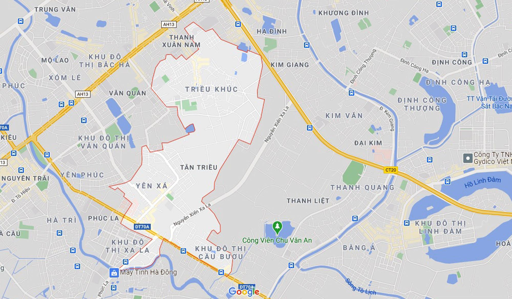 đường sẽ mở theo quy hoạch ở xã Tân Triều, Thanh Trì, Hà Nội - Ảnh 1.