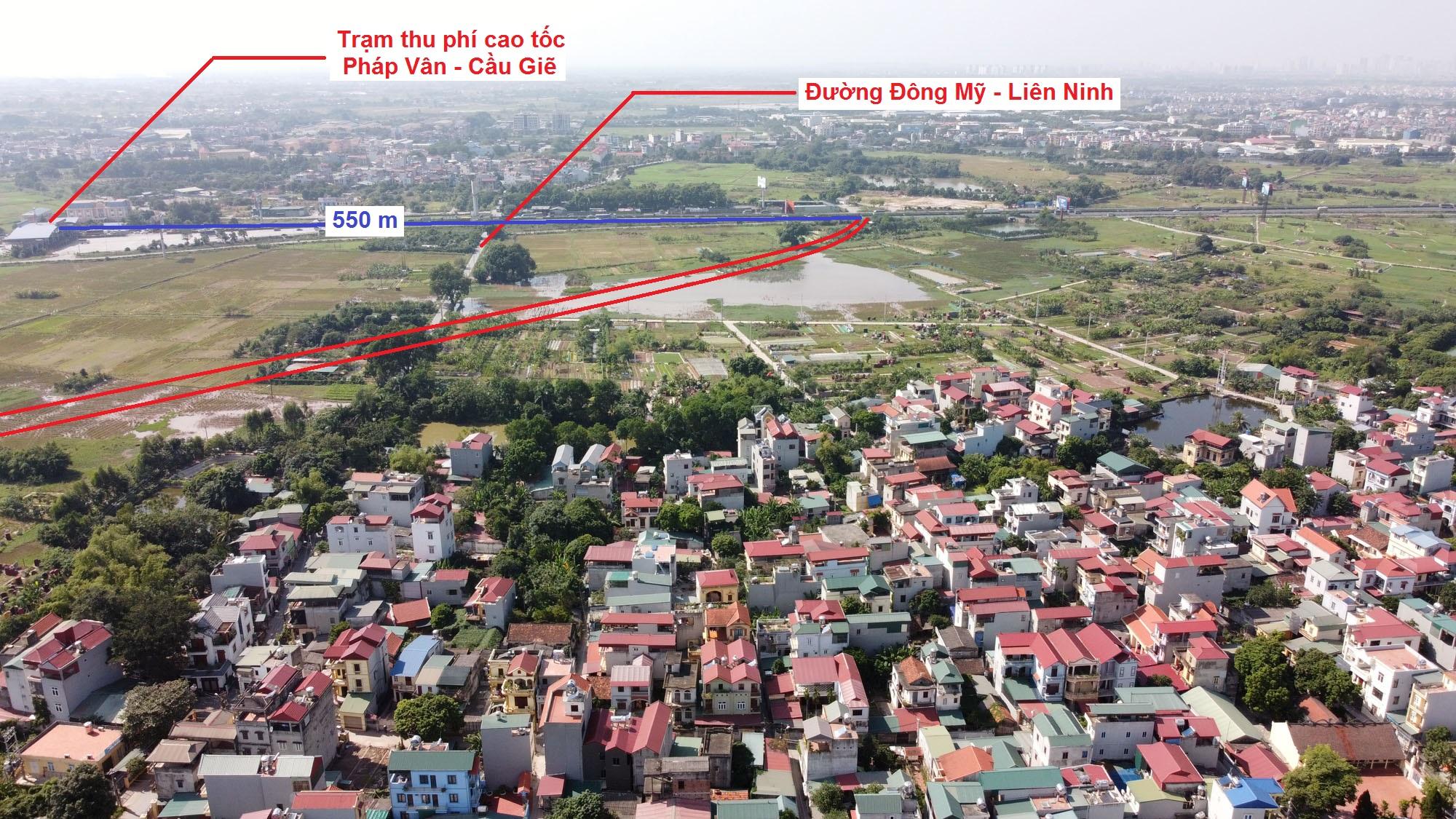 đường sẽ mở theo quy hoạch ở xã Đông Mỹ, Thanh Trì, Hà Nội - Ảnh 3.