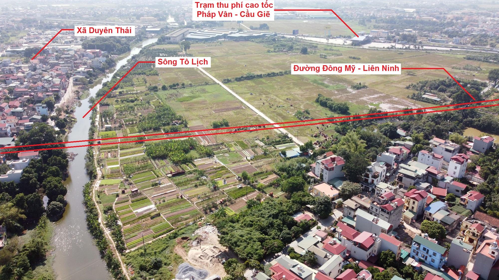 đường sẽ mở theo quy hoạch ở xã Đông Mỹ, Thanh Trì, Hà Nội - Ảnh 4.