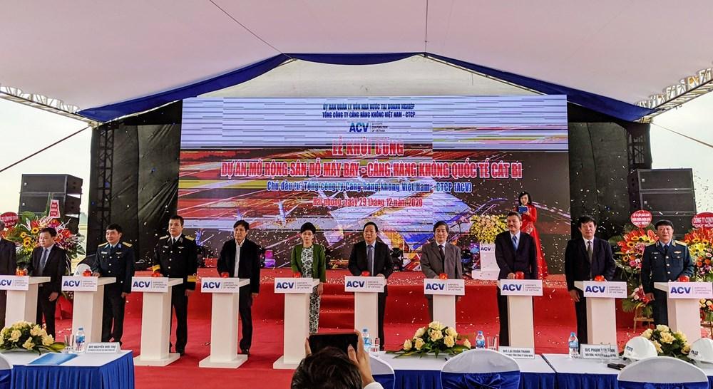 ACV khởi công dự án mở rộng sân bay Cát Bi gần 500 tỷ đồng - Ảnh 1.