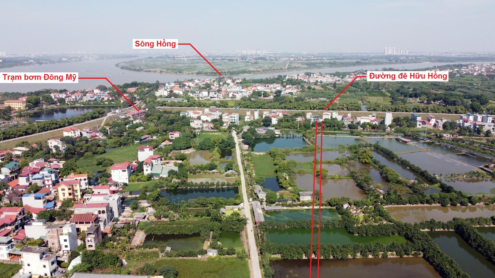 Ba đường sẽ mở theo quy hoạch ở xã Đông Mỹ, Thanh Trì, Hà Nội - Ảnh 7.