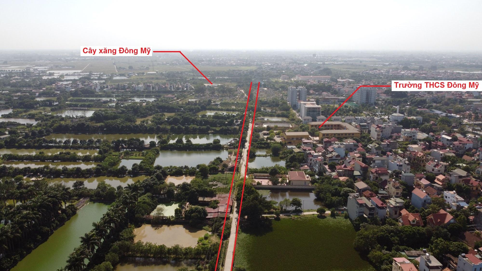 Ba đường sẽ mở theo quy hoạch ở xã Đông Mỹ, Thanh Trì, Hà Nội - Ảnh 8.