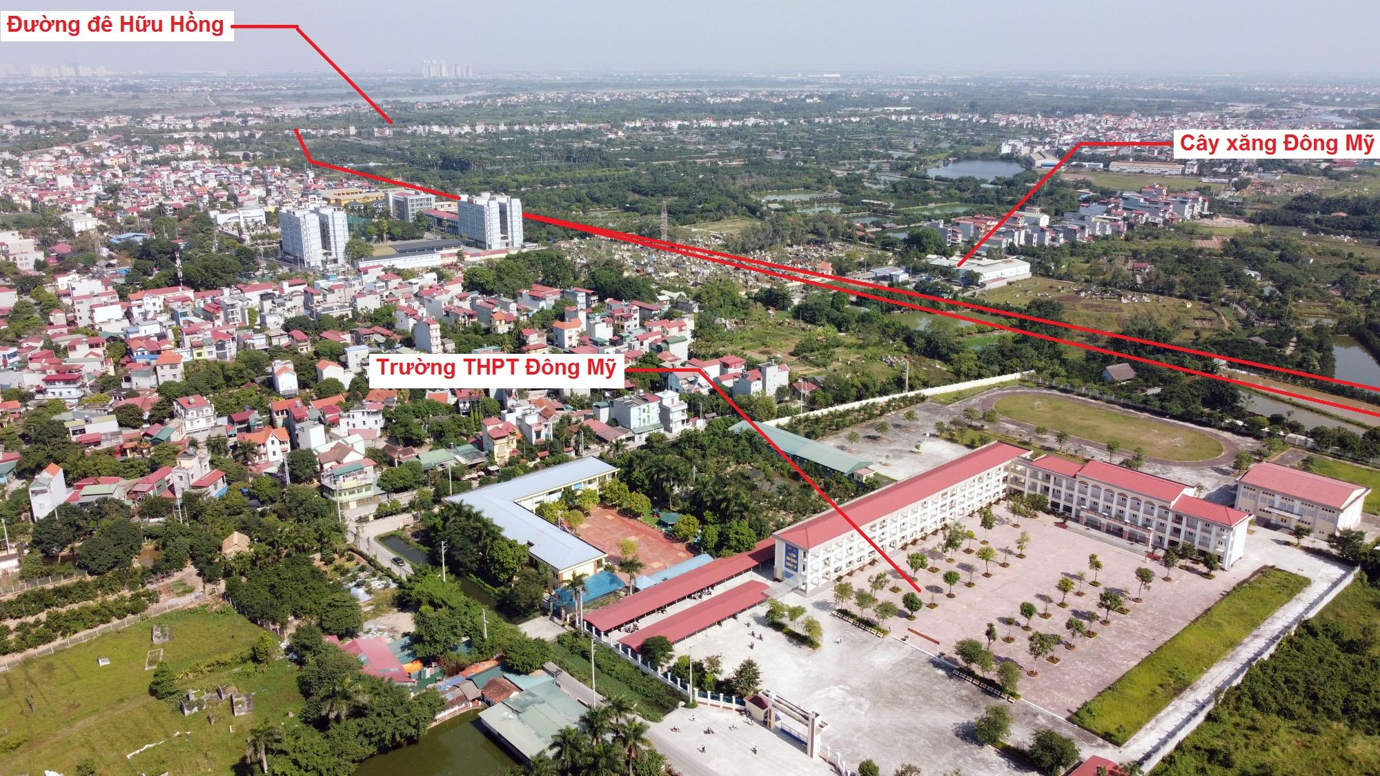 Ba đường sẽ mở theo quy hoạch ở xã Đông Mỹ, Thanh Trì, Hà Nội - Ảnh 9.