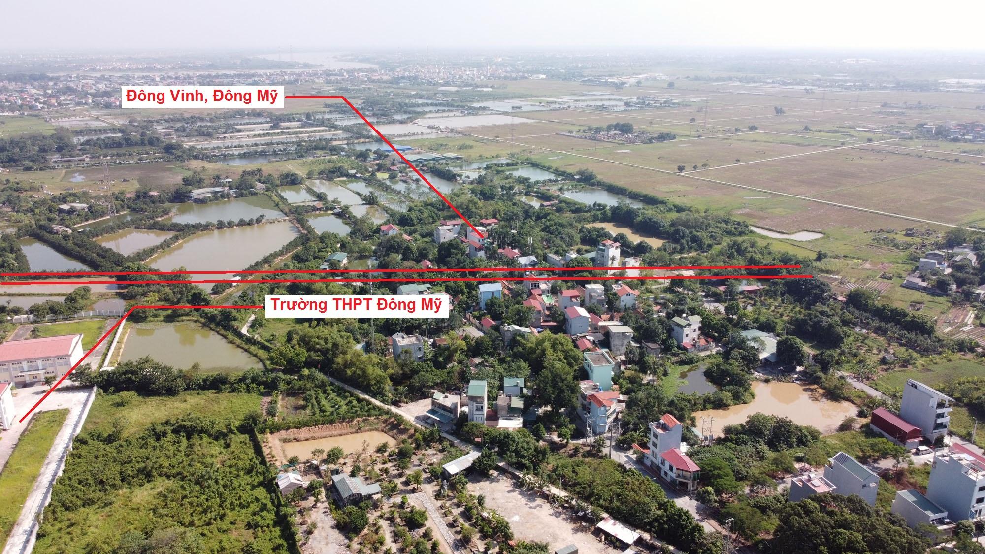 Ba đường sẽ mở theo quy hoạch ở xã Đông Mỹ, Thanh Trì, Hà Nội - Ảnh 10.