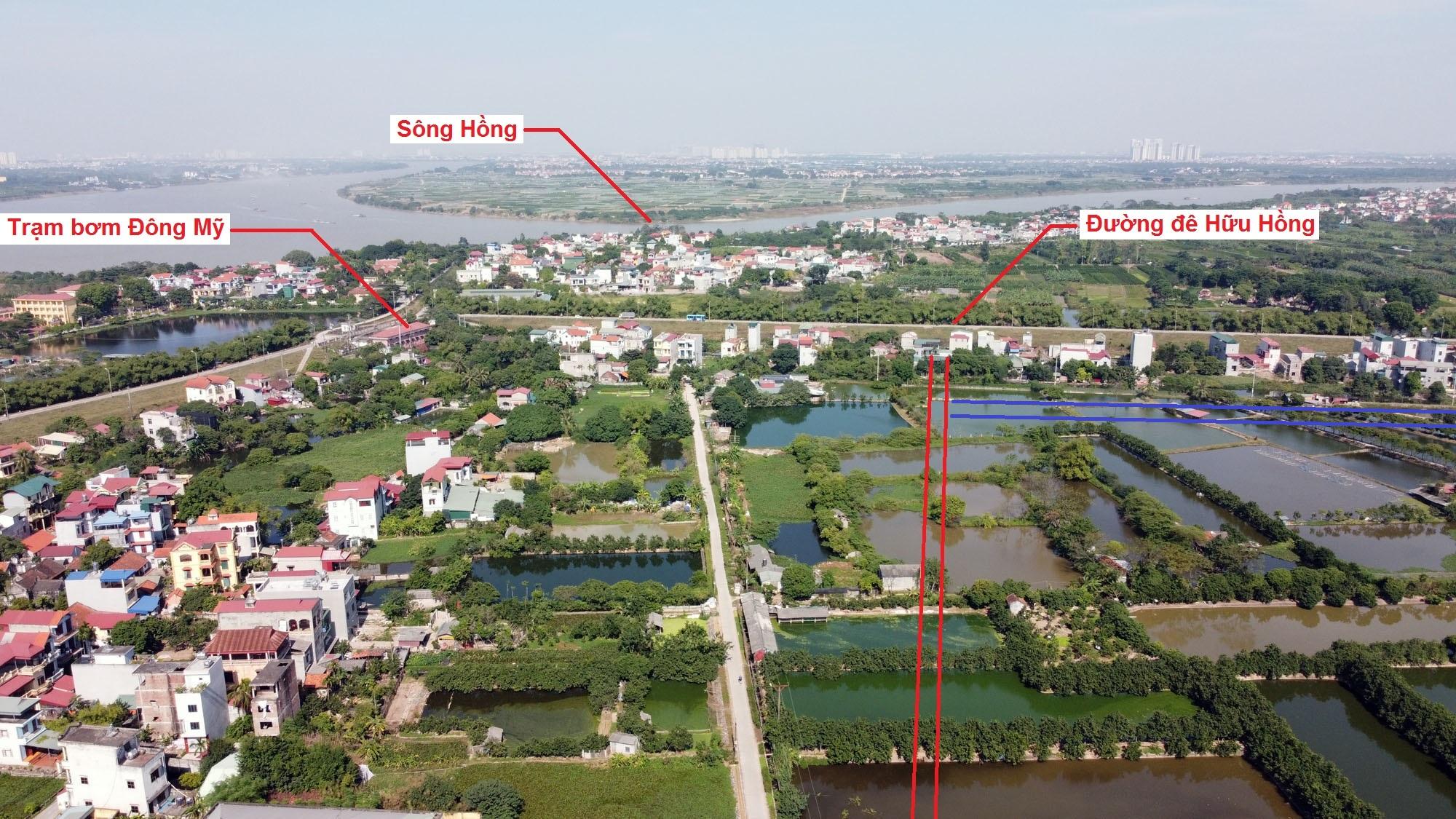 Ba đường sẽ mở theo quy hoạch ở xã Đông Mỹ, Thanh Trì, Hà Nội - Ảnh 12.