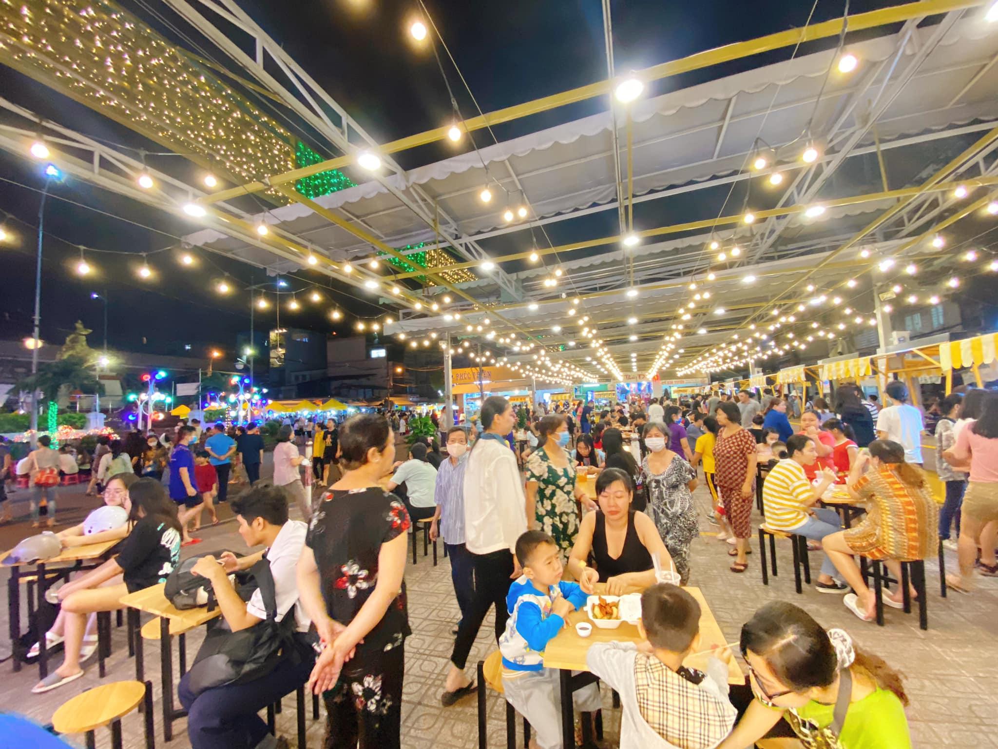 Khám phá những sự kiện mừng Tết Dương lịch tại Kỳ đài Quang Trung, phố đi bộ mới xuất hiện ở Sài Gòn - Ảnh 9.
