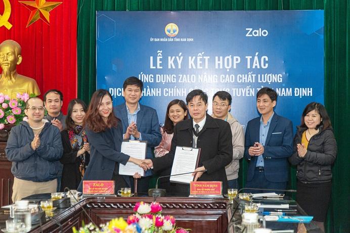 Nam Định ứng dụng Zalo vào cải cách hành chính, hoàn thành dịch vụ công cấp độ 4 - Ảnh 1.