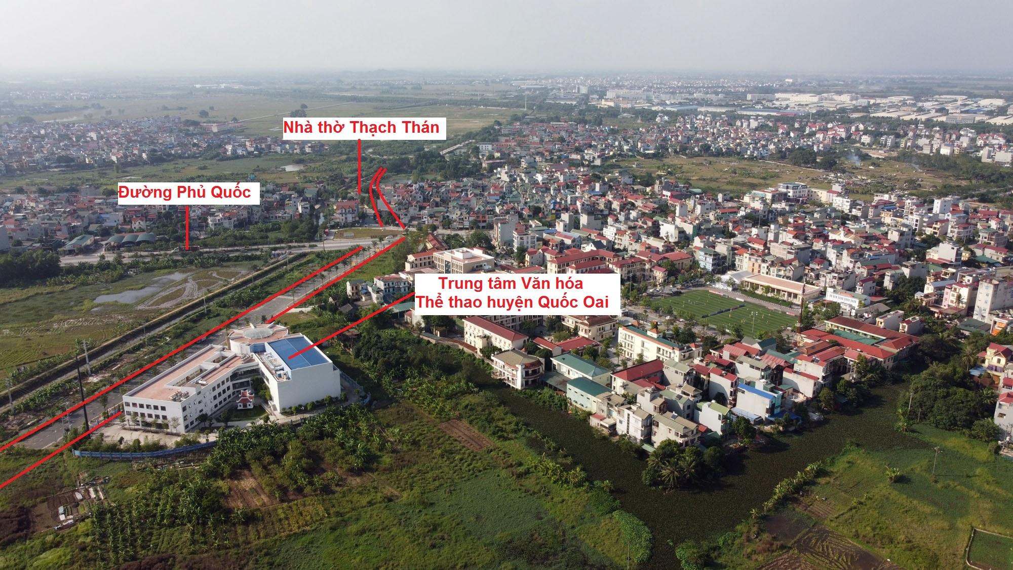 đường sẽ mở theo qui hoạch ở xã Thạch Thán, Quốc Oai, Hà Nội - Ảnh 6.