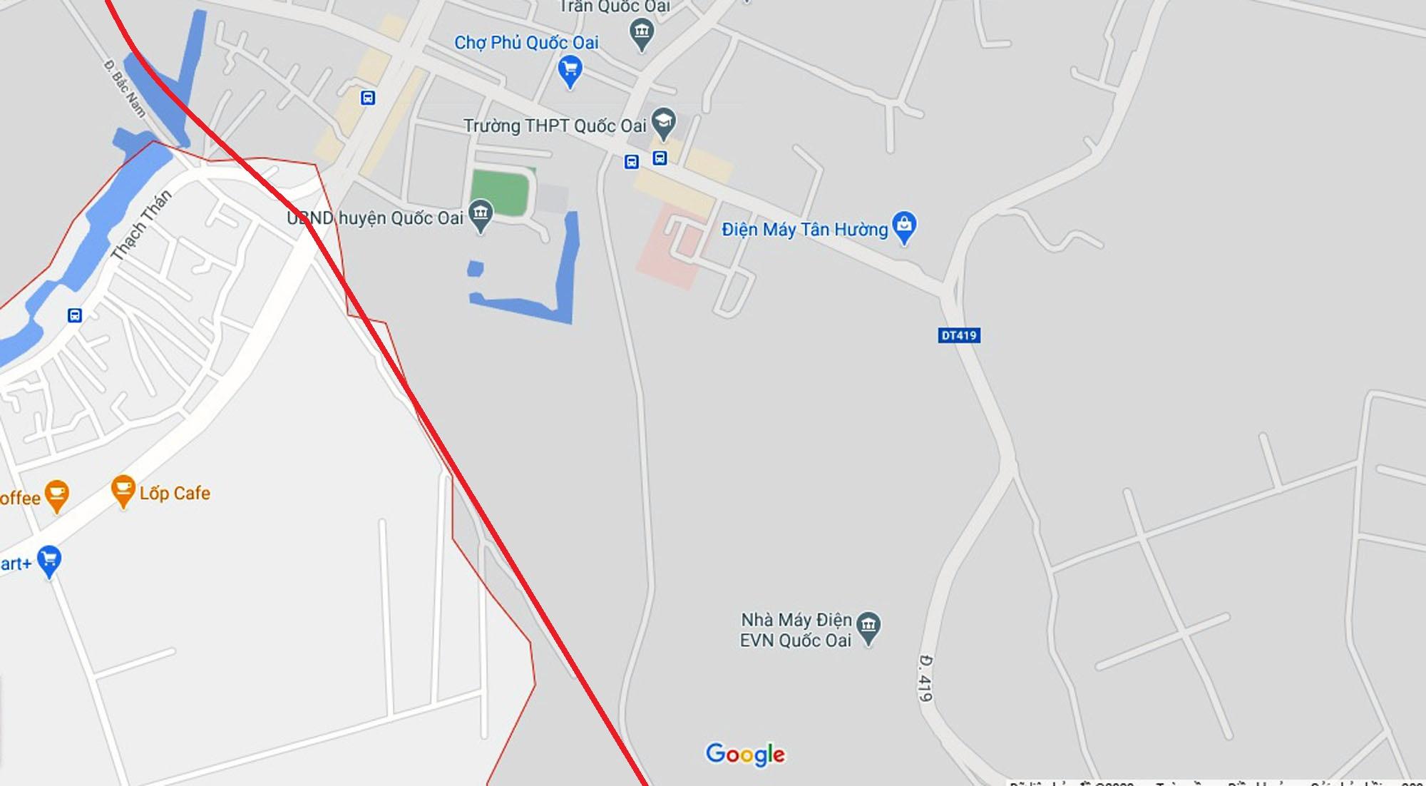 đường sẽ mở theo qui hoạch ở xã Thạch Thán, Quốc Oai, Hà Nội - Ảnh 5.