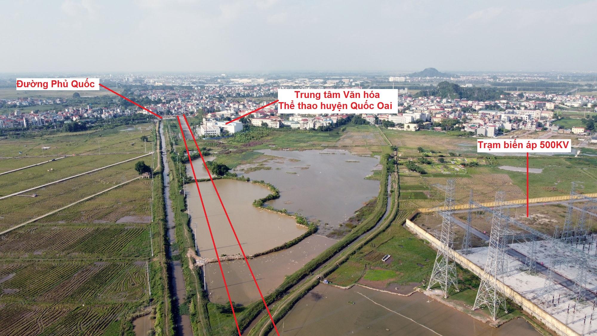 đường sẽ mở theo qui hoạch ở xã Thạch Thán, Quốc Oai, Hà Nội - Ảnh 7.