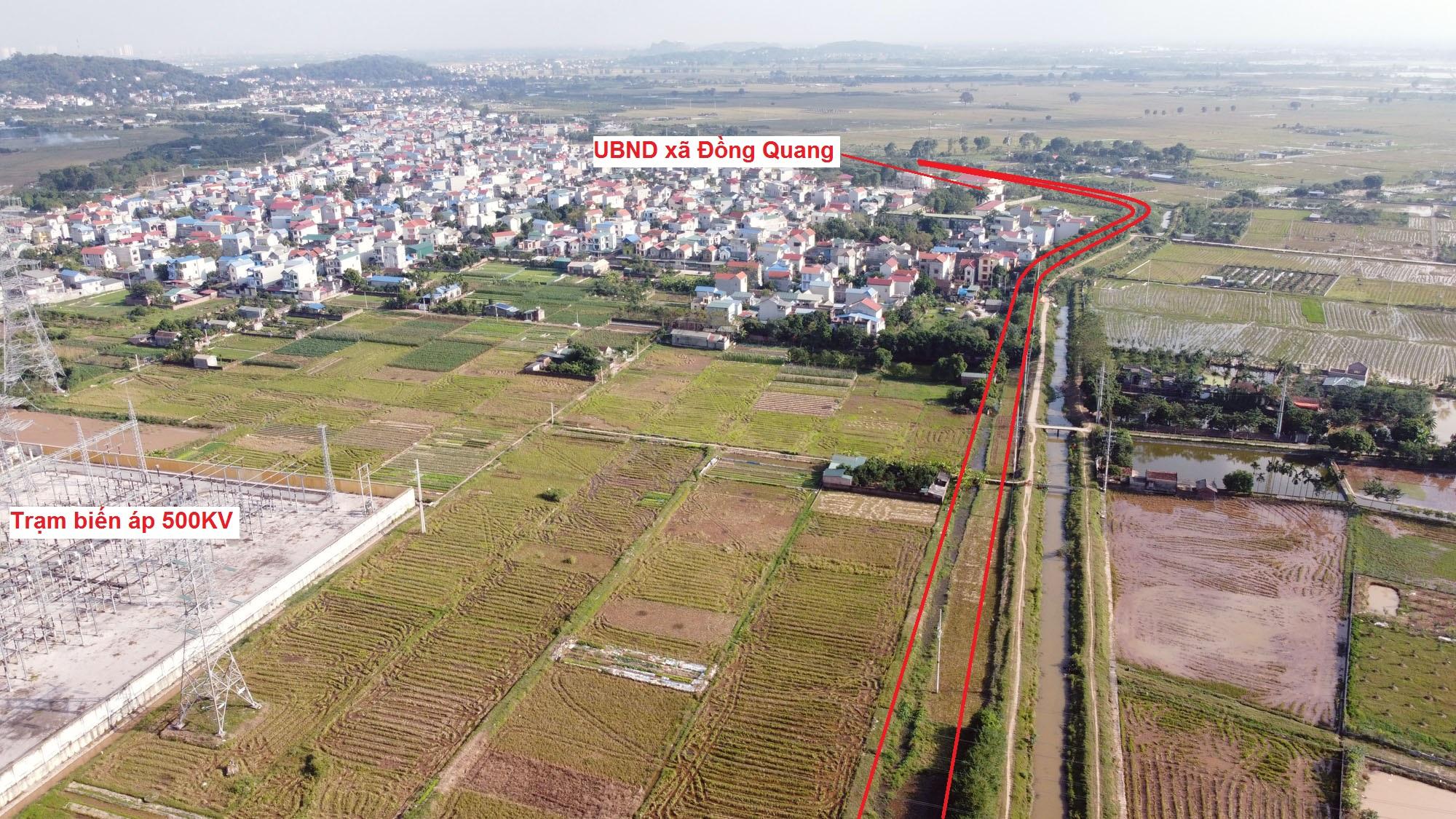 đường sẽ mở theo qui hoạch ở xã Thạch Thán, Quốc Oai, Hà Nội - Ảnh 8.