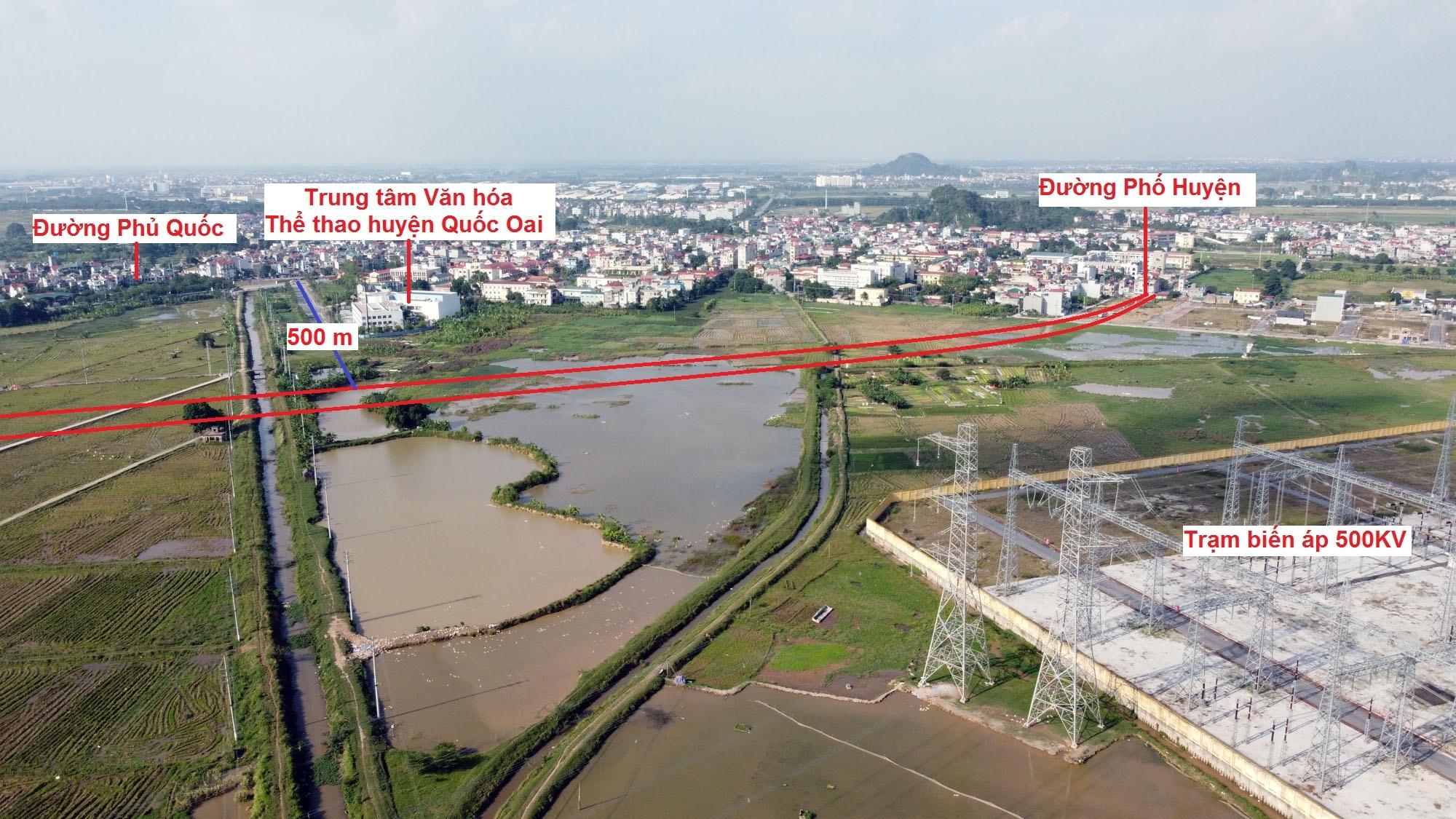 Ba đường sẽ mở theo qui hoạch ở xã Thạch Thán, Quốc Oai, Hà Nội - Ảnh 10.