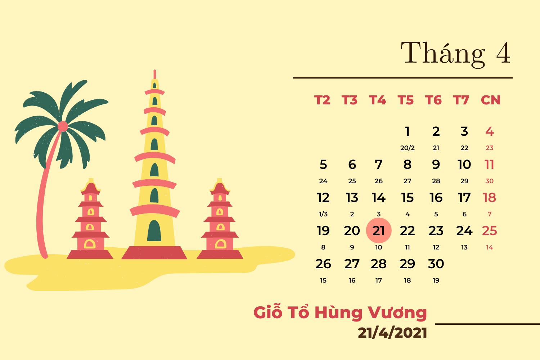 Chi tiết các ngày nghỉ lễ trong năm 2021  - Ảnh 3.